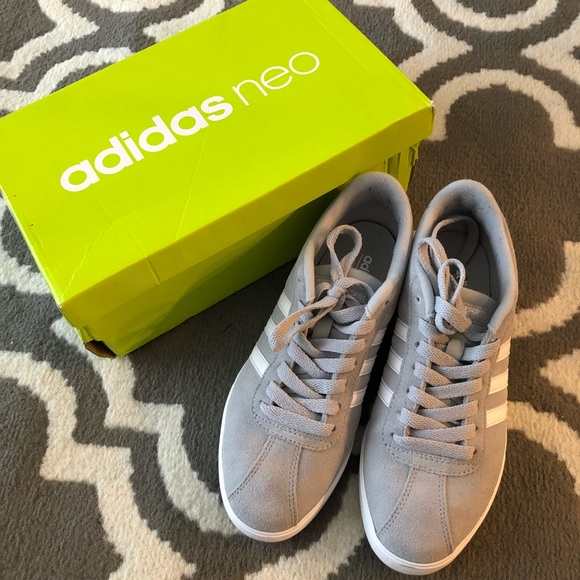 Womens Adidas Courtset Neo Sneakers In